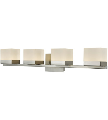 Abra Lighting 20024WV-BN Cubic LED 31 inch Brushed Nickel Vanity Wall Wall Light photo thumbnail
