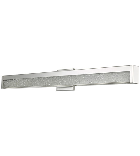 Abra Lighting 20031WV-CH Dazzle LED 36 inch Chrome Vanity Wall Wall Light alternative photo thumbnail