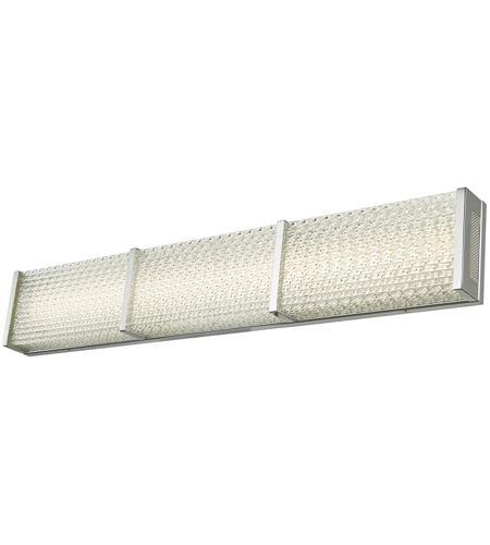 Abra Lighting 20056wv Ch Evoke Led 32 Inch Chrome Vanity Bar Light Wall