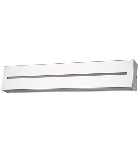 Abra Lighting 20067WV-CH Grin LED 24 inch Chrome Vanity Light Wall Light alternative photo thumbnail