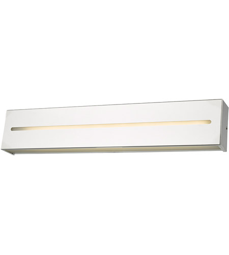 Abra Lighting 20067WV-CH Grin LED 24 inch Chrome Vanity Light Wall Light photo thumbnail