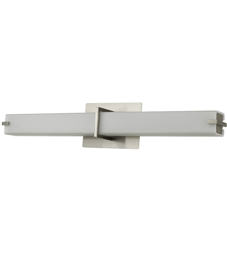 Abra Lighting 20090WV-BN Squire LED 26 inch Brushed Nickel Vanity Wall Wall Light alternative photo thumbnail