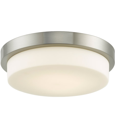 Abra Lighting Brushed Nickel Flush Mounts