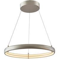Abra Lighting 10007PN-TS Sling LED 24 inch Titanium Silver Pendant Ceiling Light