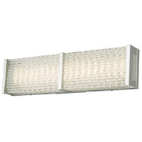 Abra Lighting 20055WV-CH Evoke LED 18 inch Chrome Vanity Bar Light Wall Light