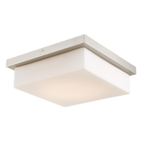 Abra Lighting 30007FM-BN Gibraltar LED 14 inch Brushed Nickel Flush Mount Ceiling Light