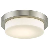 Abra Lighting 30014FM-BN Step LED 11 inch Brushed Nickel Flush Mount Ceiling Light