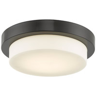 Abra Lighting 30014FM-BZ Step LED 11 inch Bronze Flush Mount Ceiling Light