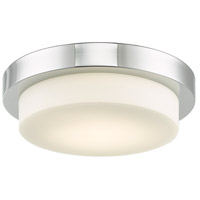 Abra Lighting 30014FM-CH Step LED 11 inch Chrome Flush Mount Ceiling Light