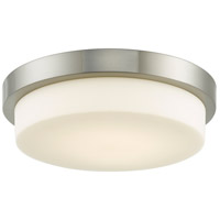 Abra Lighting 30015FM-BN Step LED 13 inch Brushed Nickel Flush Mount Ceiling Light