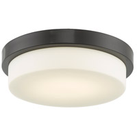 Abra Lighting 30015FM-CH Step LED 13 inch Chrome Flush Mount Ceiling Light