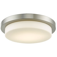 Abra Lighting 30016FM-BN Step LED 16 inch Brushed Nickel Flush Mount Ceiling Light