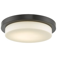 Abra Lighting 30016FM-BZ Step LED 16 inch Bronze Flush Mount Ceiling Light