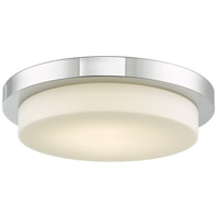 Abra Lighting 30016FM-CH Step LED 16 inch Chrome Flush Mount Ceiling Light