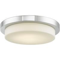 Abra Lighting 30016FM-CH Step LED 16 inch Chrome Flush Mount Ceiling Light