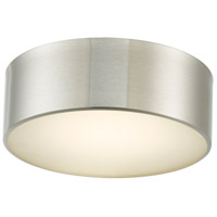 Abra Lighting 30030FM-BN Bongo LED 10 inch Brushed Nickel Flush Mount Ceiling Light
