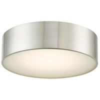 Abra Lighting 30031FM-BN Bongo LED 12 inch Brushed Nickel Flush Mount Ceiling Light