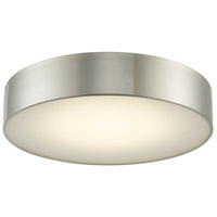 Abra Lighting 30032FM-BN Bongo LED 16 inch Brushed Nickel Flush Mount Ceiling Light