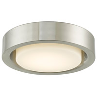 Abra Lighting 30036FM-BN Eclipse LED 13 inch Brushed Nickel Flush Mount Ceiling Light