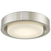 Abra Lighting 30037FM-BN Eclipse LED 15 inch Brushed Nickel Flush Mount Ceiling Light