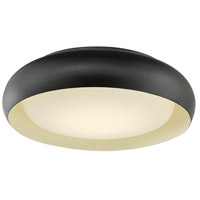 Abra Lighting 30060FM-BZ Euphoria LED 15 inch Bronze Flush Mount Ceiling Light