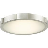 Abra Lighting 30066FM-BN Halo LED 13 inch Brushed Nickel Flush Mount Ceiling Light