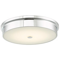 Abra Lighting 30098FM-CH Spark LED 15 inch Chrome Flush Mount Ceiling Light