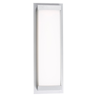 Abra Lighting 50014ODW-316STS Atom LED 6 inch Stainless Steel ADA Wall Sconce Wall Light