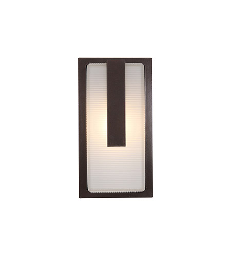 Access 20012LEDMG-BRZ/RFR Neptune LED 13 inch Bronze Outdoor Wall Sconce photo