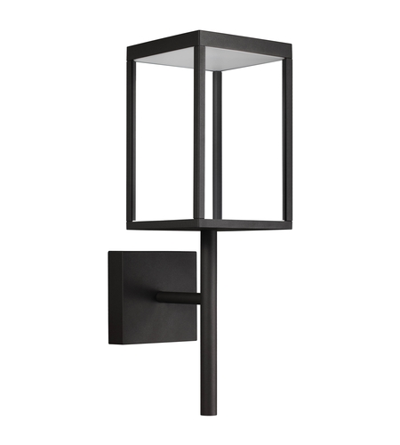 Access 20081LED-BL/CLR Reveal LED 22 inch Black Outdoor Wall Sconce photo thumbnail