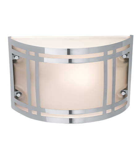 Access 20301-SS/FST Poseidon 1 Light 7 inch Stainless Steel Outdoor Wall in Incandescent photo