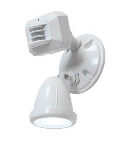 Access Lighting Ariel 1 Light Outdoor Spotlight in White 20308-WH/FST photo