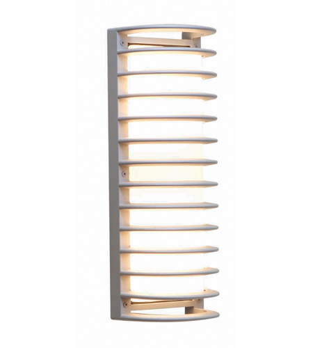Access Lighting Poseidon 2 Light Wet Location Bulkhead In Satin With Ribbed Frosted Gl 20342mg Sat Rfr