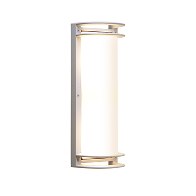Access Lighting Poseidon 2 Light Bulkhead in Satin with Ribbed Frosted Glass C20344MGSATRFREN1218BS photo