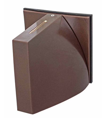 Access Lighting Caso 1 Light Outdoor Wall in Bronze 20345-BRZ/FST photo