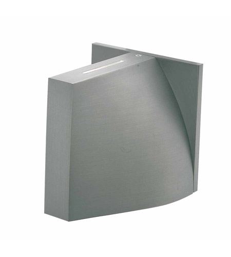 Access Lighting Caso 1 Light Outdoor Wall in Satin 20345-SAT/FST photo