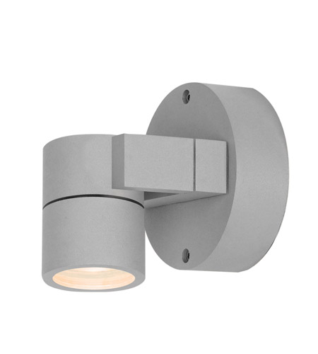 Access 20351MG-SAT/CLR KO 1 Light 4 inch Satin Outdoor Wall in Incandescent  photo