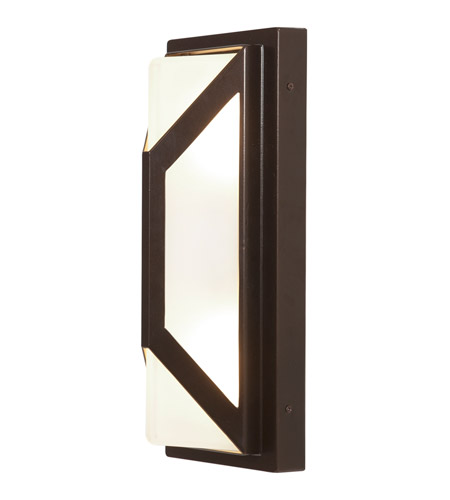 Access Lighting Nyami 1 Light Wall Sconce in Bronze 20370MGLED-BRZ/FST photo