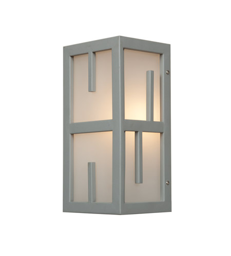 Access 20376MG-SAT/FST Zen 1 Light 12 inch Satin Outdoor Wall Light photo