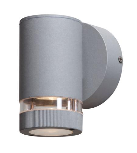 sc 1 st  Access Lighting & Access Lighting Poseidon 1 Light Outdoor Wall in Satin 20384MG-SAT/CLR