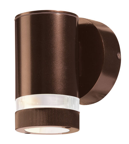 Access Lighting ZyZx Bronze  / Clear Glass Sconces 20386LED-BRZ/CLR photo