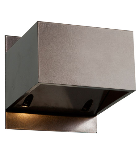 Access 20398LED-BRZ Square LED 3 inch Bronze Outdoor Wall Light  photo