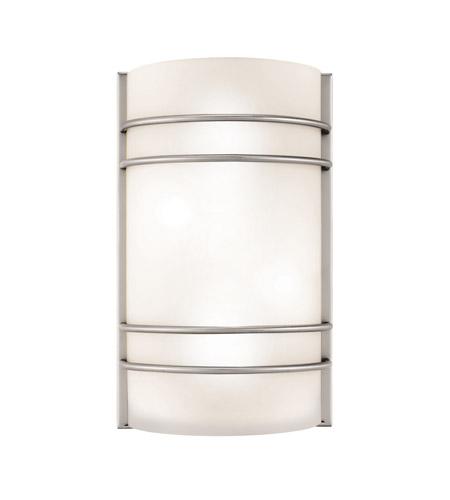 Access 20416-BS/OPL Artemis 2 Light 8 inch Brushed Steel ADA Sconce Wall Light in Incandescent photo