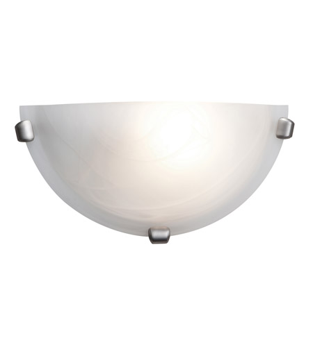 Access 20417-BS/ALB Mona 1 Light 12 inch Brushed Steel ADA Sconce Wall Light photo