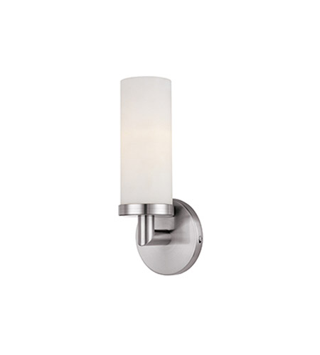 Access 20441-BS/OPL Aqueous 1 Light 5 inch Brushed Steel Vanity Wall Light photo