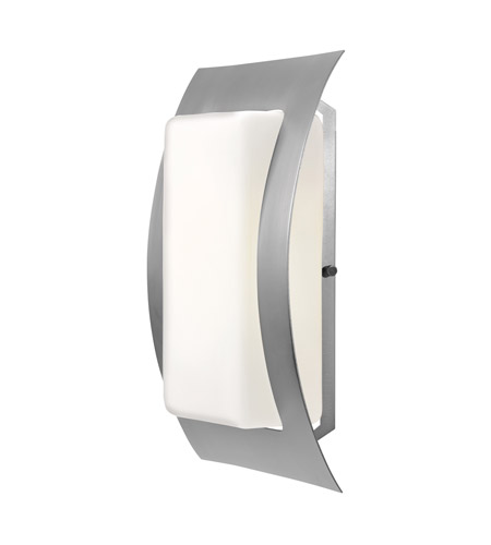 Access 20449-SAT/OPL Eclipse 1 Light 14 inch Satin Outdoor Wall photo