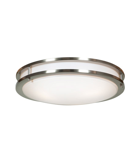 Access 20466LEDD-BS/ACR Solero LED 18 inch Brushed Steel Flush Mount Ceiling Light photo