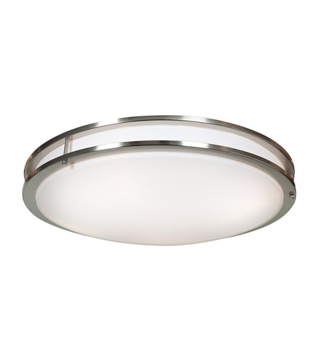 Access 20467LEDD-BS/ACR Solero LED 24 inch Brushed Steel Flush Mount Ceiling Light  photo