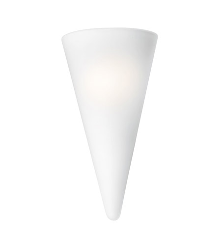 Access Lighting Victoria 1 Light Sconce in White 20525-WH/OPL photo