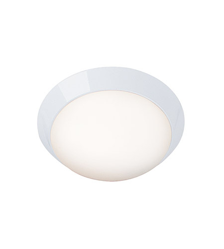 Access 20624-WH/OPL Cobalt 1 Light 11 inch White Flush Mount Ceiling Light in Incandescent photo